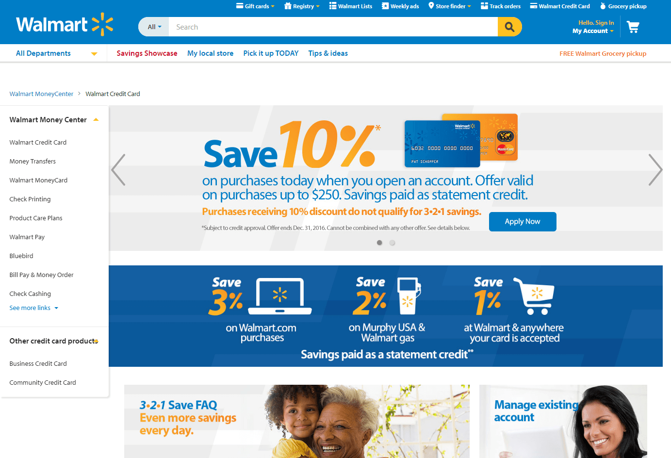 Walmart card offer prescreen - Step 1 Go To Walmartcom Apply Walmart Credit Card