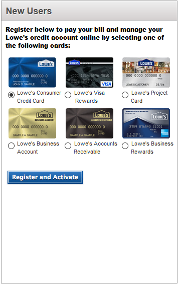 How to Activate/ Register Lowe's Credit Card