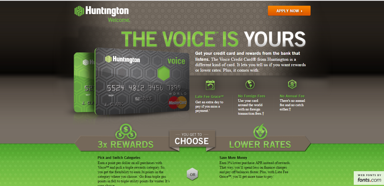 Huntington credit card application creditcardmenu if you want some fun in your business do indulge once you are satisfied there is apply now button just below click on it colourmoves
