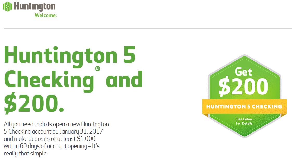Huntington Coupons