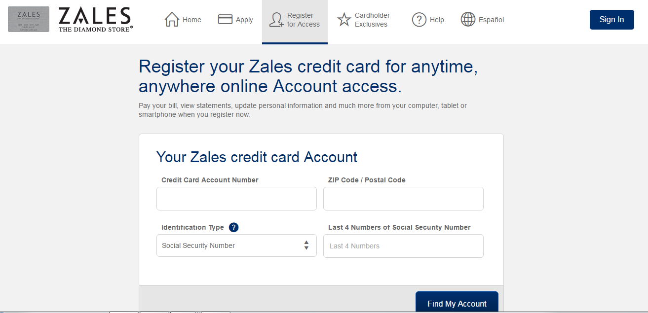How to Activate Zales Credit Card