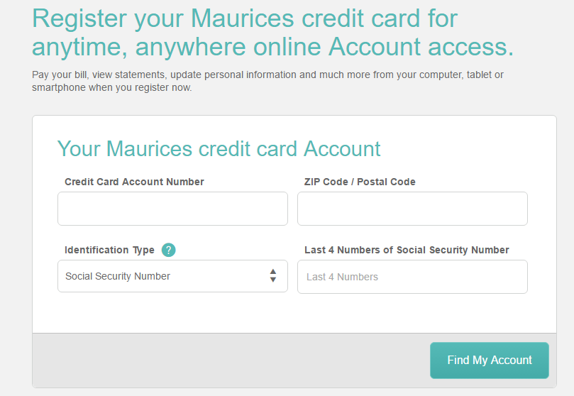 How to Activate Maurices Credit Card / Register Maurices MasterCard