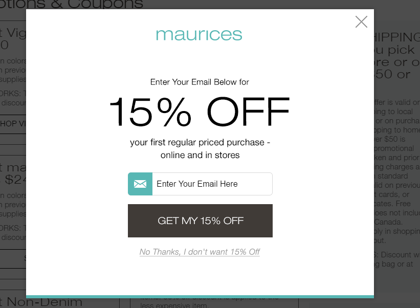 How to Use Maurices Coupons