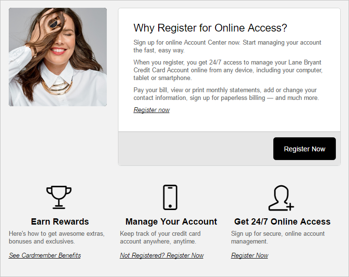 Pay Lane Bryant Credit Card Online