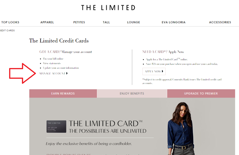 How to Manage The Limited Credit Card Online