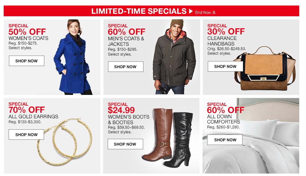 Macy's Coupons and Special Deals