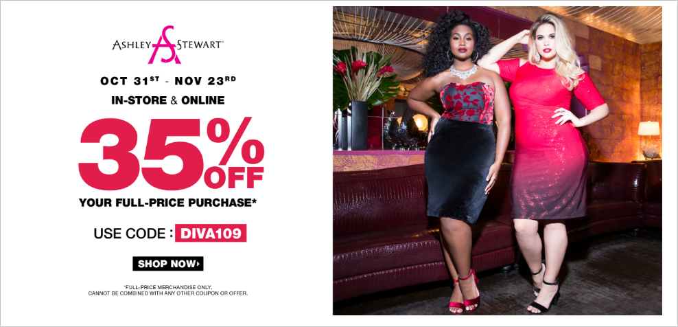 How to Get Ashley Stewart Coupons