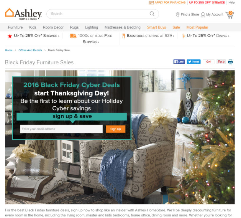 How to Get Ashley Furniture Coupons
