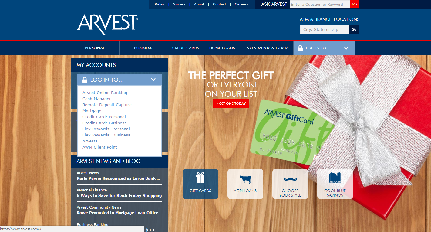 How to Get Access to Arvest Bank Online