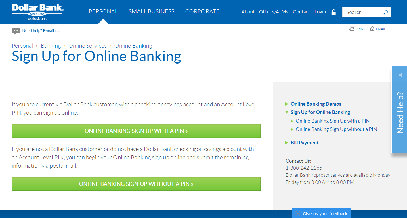 How to Get Access to Manage Dollar Bank Card Online