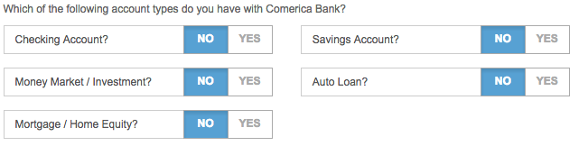 Step 4 - Current Accounts With Comerica and Adding Additional Users
