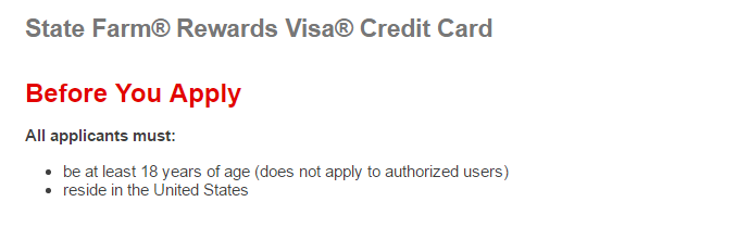 Step 2 - Make Sure You Are Eligible for Credit Card