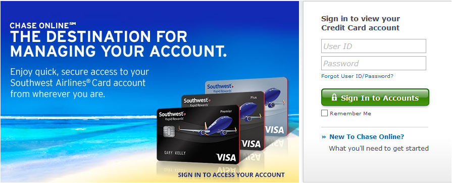 How to Activate Southwest Credit Card / Register Southwest Credit Card