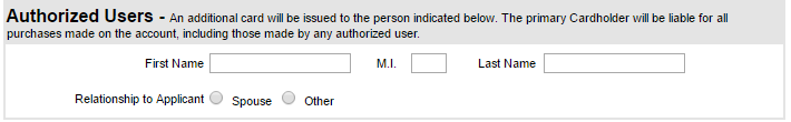 Step 4 - Choose Authorized Users