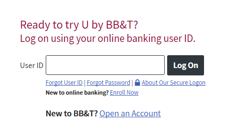 How to Login to the BB&T Bright Card Account