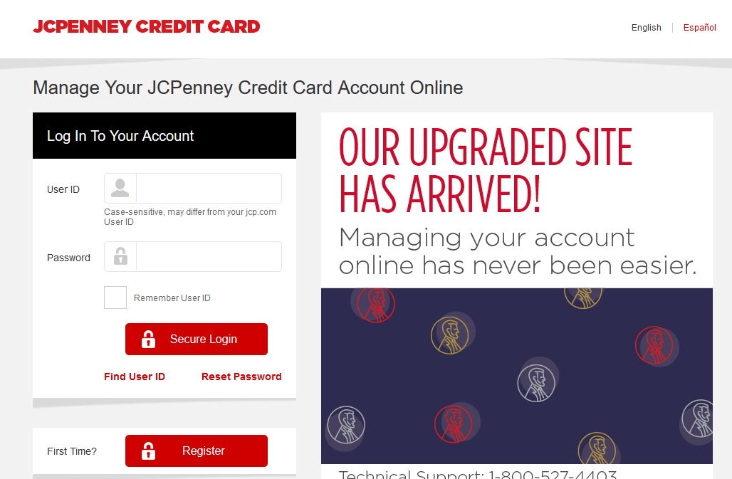 How to Log In to JCPenney Credit Card