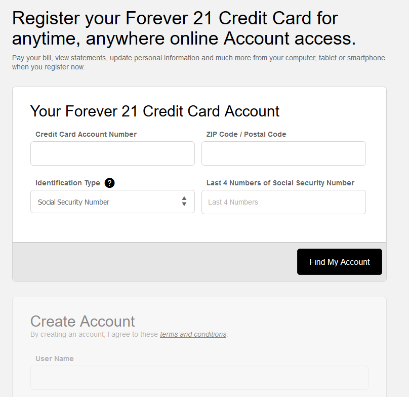 How to Activate Forever 21 Credit Card / Register Forever 21 Credit Card