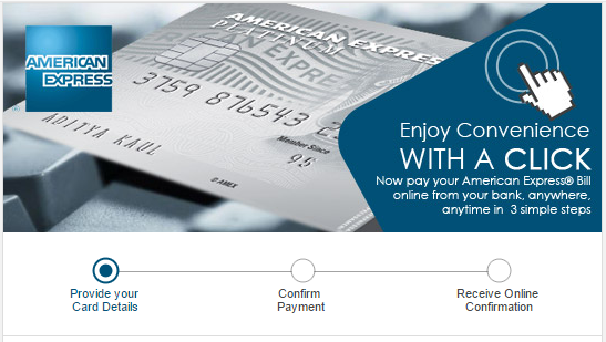 How to Pay for Starwood Preferred Guest Credit Card from American Express with Direct Online Payment