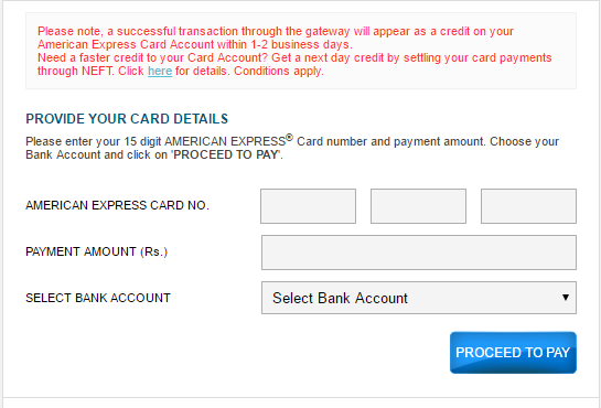 How to Pay for Starwood Preferred Guest Credit Card from American Express with Autopay