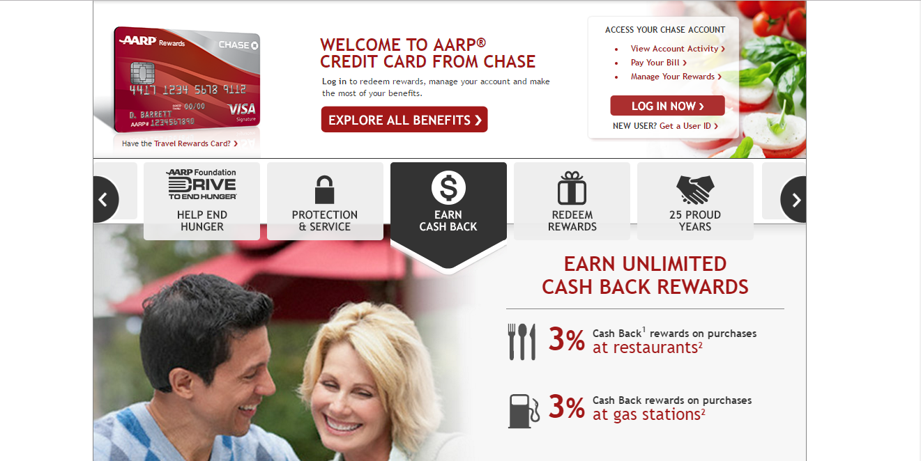 How to Login AARP Credit Card Account