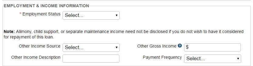 Step3 - Continue Filling in the Required Fields