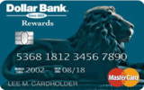 Dollar Bank Valued Customer MasterCard Credit Card