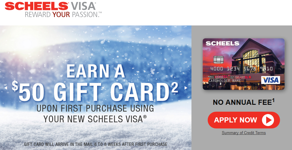 Step 1 - Go to Scheels.com